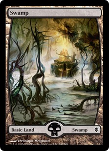 Swamp (3) (full art)