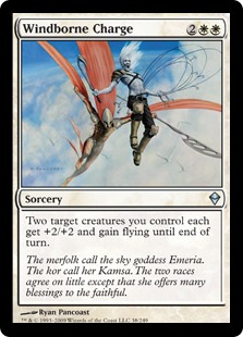 Windborne Charge (foil)