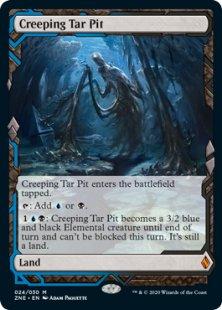 Creeping Tar Pit (full art)