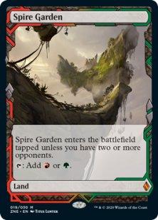 Spire Garden (foil) (full art)