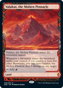Valakut, the Molten Pinnacle (full art)