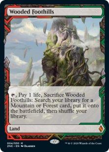 Wooded Foothills (full art)