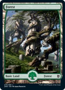 Forest (2) (foil) (full art)