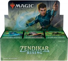 Draft Boosterbox Zendikar Rising (incl. box topper)