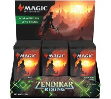 Set Boosterbox Zendikar Rising (incl. box topper)