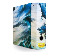 Dragon Shield Slipcase Album Dragon Art Blue