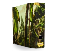 Dragon Shield Slipcase Album Dragon Art Green
