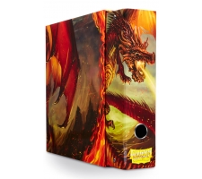 Dragon Shield Slipcase Album Dragon Art Red