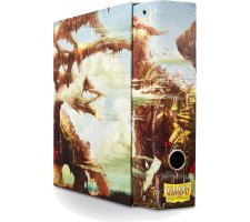 Dragon Shield Slipcase Album Dragon Art Umber