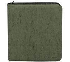 Builder's Premium Pro Deck Playset Binder Suede Collection: Emerald