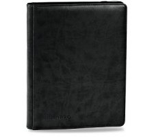 Premium Pro 9 Pocket Binder Black