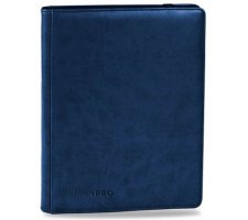 Premium Pro 9 Pocket Binder Blue