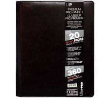 Premium Pro 9 Pocket Binder Cowhide