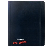 Pro 4 Pocket Binder Black
