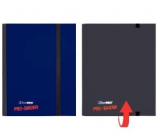 Pro 4 Pocket Binder Blue / Black Flip