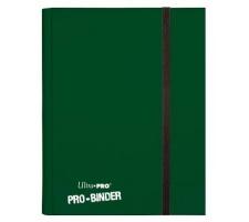 Pro 9 Pocket Binder Dark Green