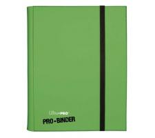 Pro 9 Pocket Binder Green
