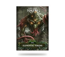 Card Game Tokens Booster: Premium Green Elemental Tokens (version 1)