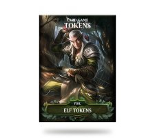 Card Game Tokens Booster: Premium Elf Tokens