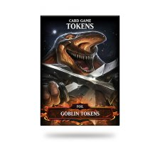 Card Game Tokens Booster: Premium Goblin Tokens