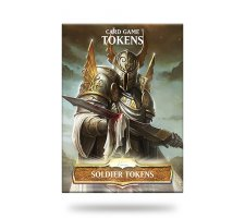 Card Game Tokens Booster: Premium Soldier Tokens