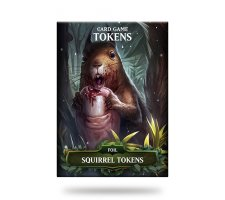 Card Game Tokens Booster: Premium Squirrel Tokens
