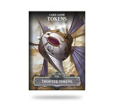 Card Game Tokens Booster: Premium Thopter Tokens