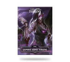 Card Game Tokens Booster: Premium Zombie Army Tokens
