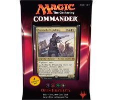 Commander 2016: Open Hostility (Black, Red, Green & White)
