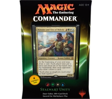 Commander 2016: Stalwart Unity (Red, Green, White & Blue)