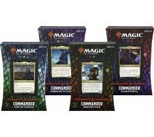 Commander Deck Adventures in the Forgotten Realms (set van 4 decks)