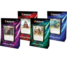 Commander 2019 complete set decks