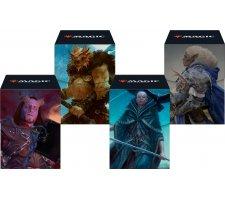 Deckbox + Sleeves Commander Adventures in the Forgotten Realms (set van 4)