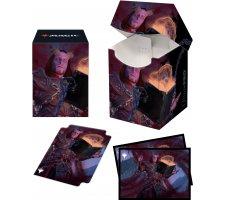 Deckbox + Sleeves Commander Adventures in the Forgotten Realms: Prosper, Tome-Bound