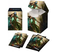Deckbox + Sleeves Commander Kaldheim: Lathril, Blade of the Elves