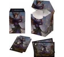 Deckbox + Sleeves Innistrad: Midnight Hunt: Leinore, Autumn Sovereign