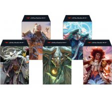 Deckbox + Sleeves Commander 2021 (set of 5)