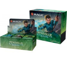 Draft Boosterbox + Bundle Zendikar Rising (incl. box topper)