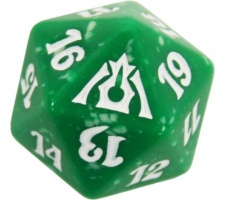 Spindown Die D20 Dragon's Maze