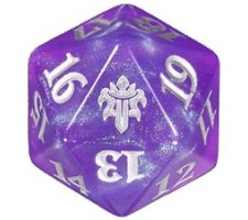 Oversized Spindown Die D20 Gift Edition Throne of Eldraine