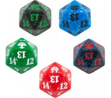 Spindown Die D20 Guilds of Ravnica (set van 5)
