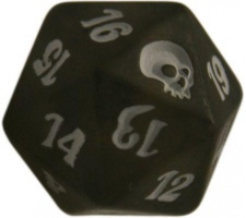 Spindown Die D20 Premium Deck Graveborn
