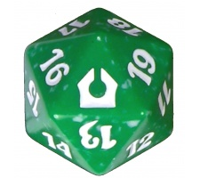 Spindown Die D20 Return to Ravnica