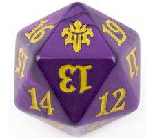 Oversized Spindown Die D20 Throne of Eldraine