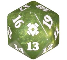 Spindown Die D20 Zendikar Rising (Prerelease)