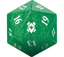 Oversized Spindown Die D20 Zendikar Rising
