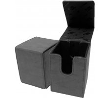 Deckbox Alcove Flip Suede Collection: Jet