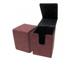 Deckbox Alcove Flip Suede Collection: Ruby