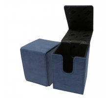 Deckbox Alcove Flip Suede Collection: Sapphire