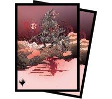 Sleeves Innistrad: Midnight Hunt: Arlinn, the Moon's Fury (100 pieces)